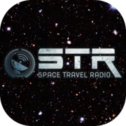 Логотип STR - Space Travel Radio