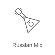 Логотип Радио Record Russian Mix